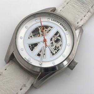 Lucky Brand Automatic Ladies Watch White Band